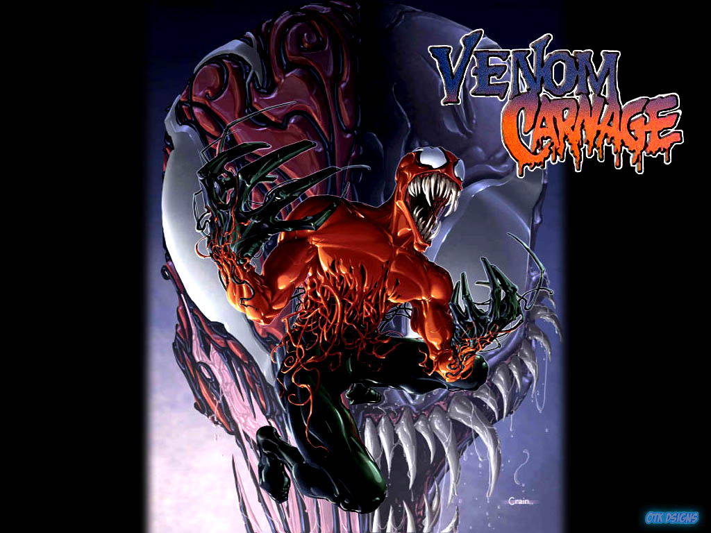venom and carnage wallpaper wallpapersafari