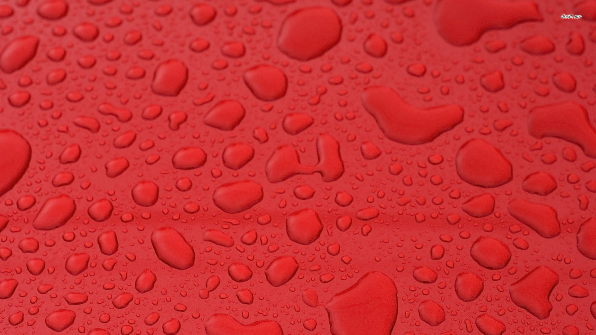 Water Drops on Red Texture Artistic Wallpaper HD Wallpapers 1920x1080