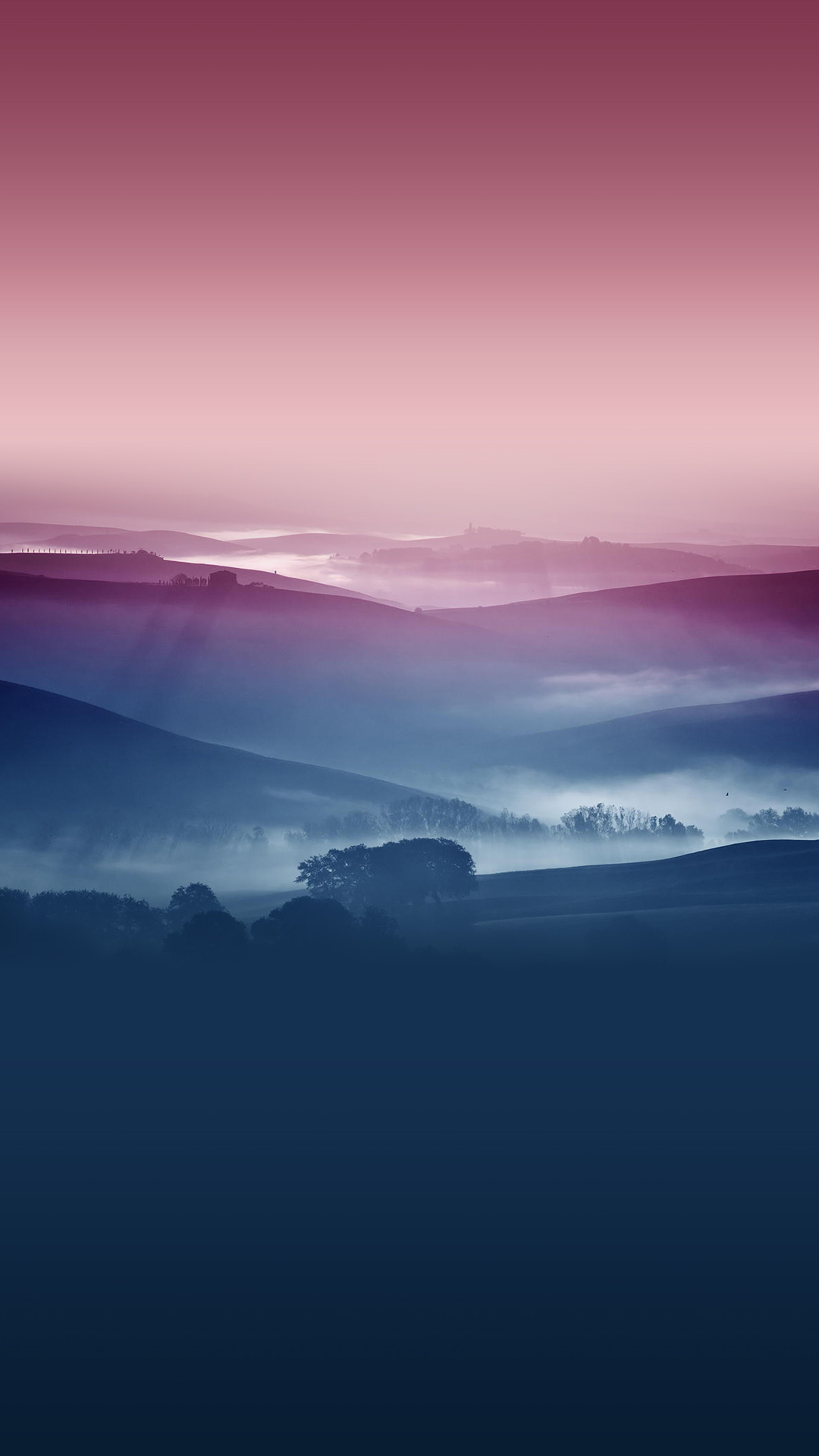 Hazy Nature iPhone 8 Wallpapers Download 1080x1920