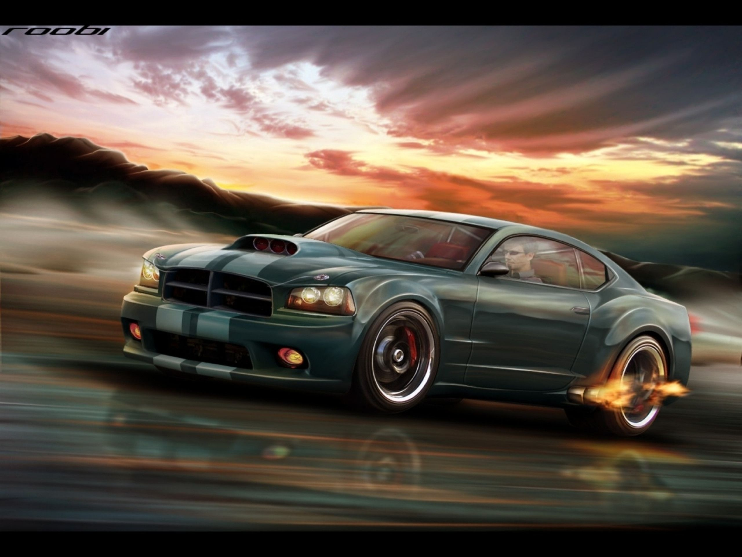 Cool Muscle Car Wallpapers Photo 3d Iphone Camaro Muscle 2560x1920