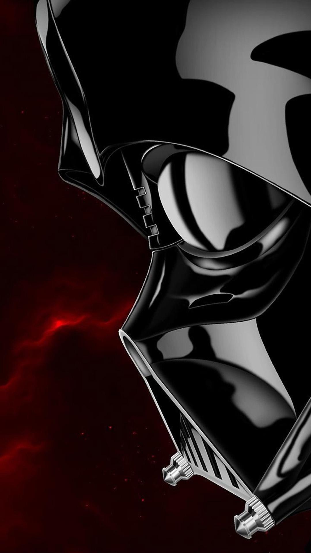 Darth Vader Star Wars Illustration Android Wallpaper download 1080x1920
