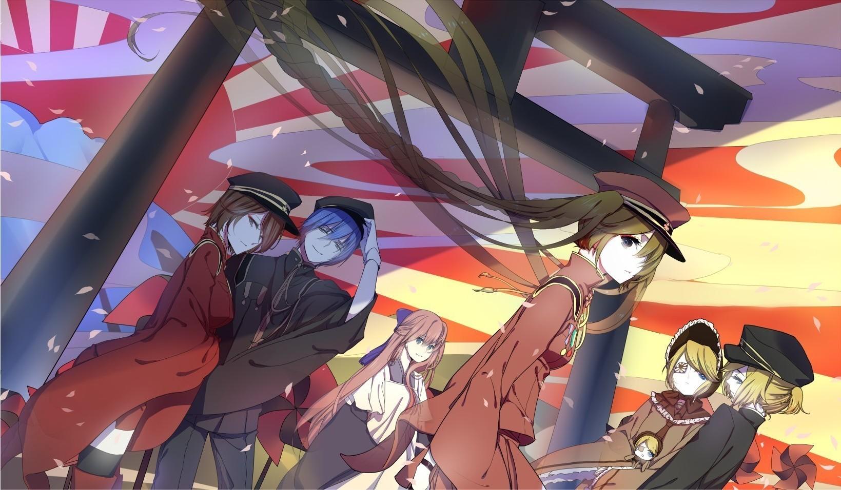 Vocaloid Hatsune Miku Kagamine Len Kagamine Rin Meiko 1639x956