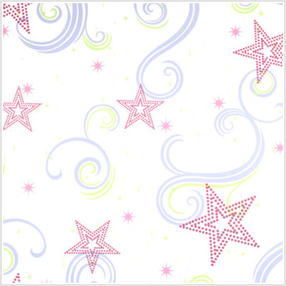Star Glitter White Pink and Purple Wallpaper   Wall Sticker Outlet 570x570
