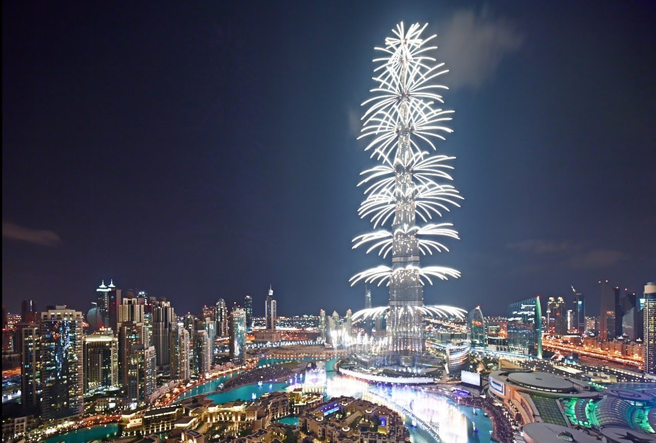 Burj Khalifa New Year Desktop Wallpapers 1280x865 1280x865