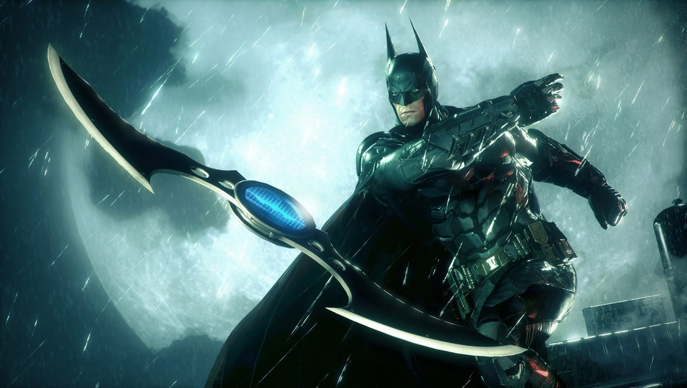 Batman Arkham Knight 2015 HD Wallpaper   Stylish HD Wallpapers 1360x768