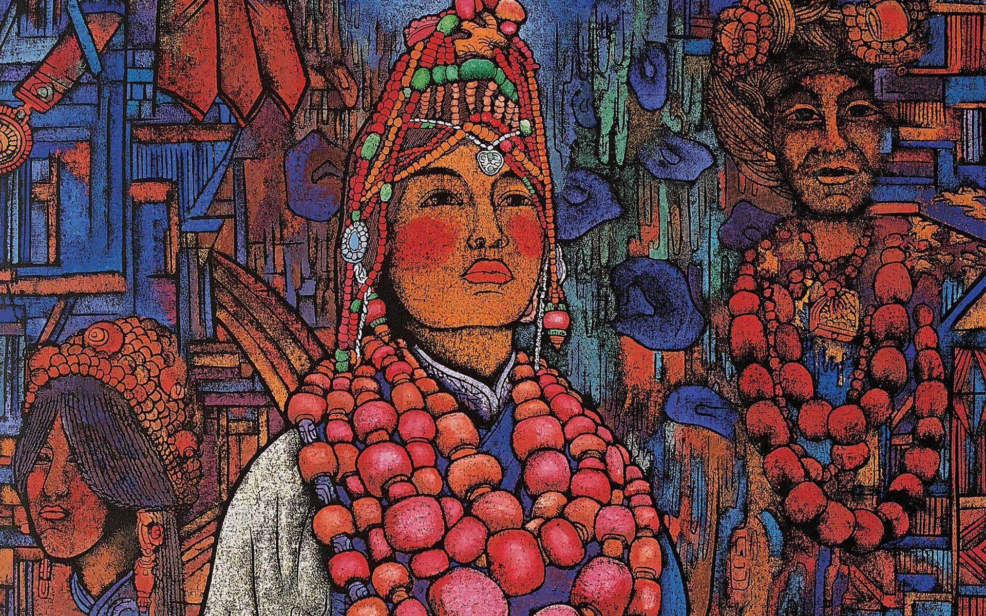 Tibetan Art HD Wallpapers 1920x1200