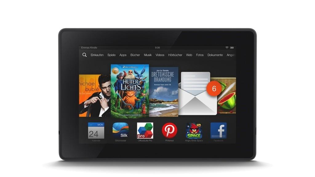 Tablet PCs Amazon Kindle Fire und Amazon Kindle Fire HDX  Bilder 1024x576