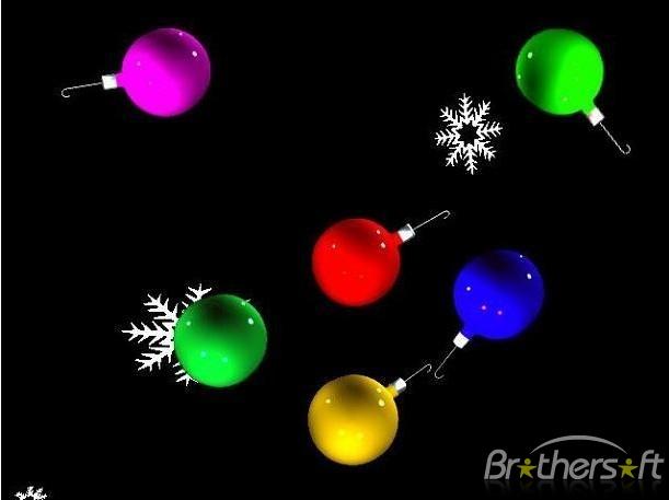 comDownload 3D Christmas Ornaments for Mac OS X 3D Christmas 611x457