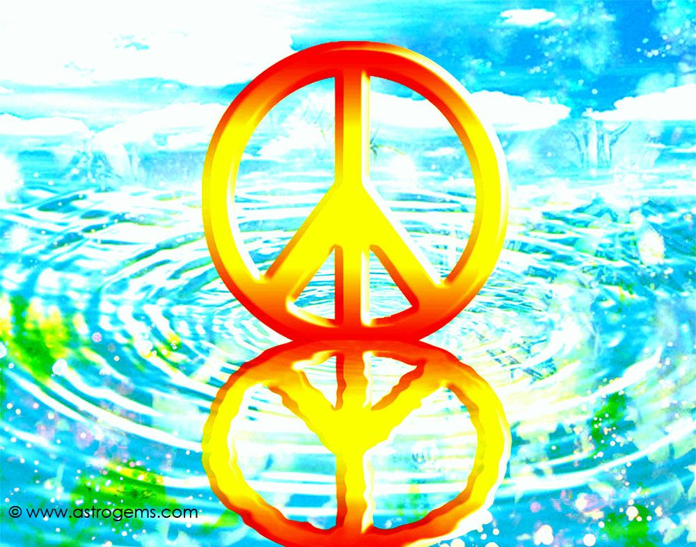Peace Sign Desktop Backgrounds 1000x786