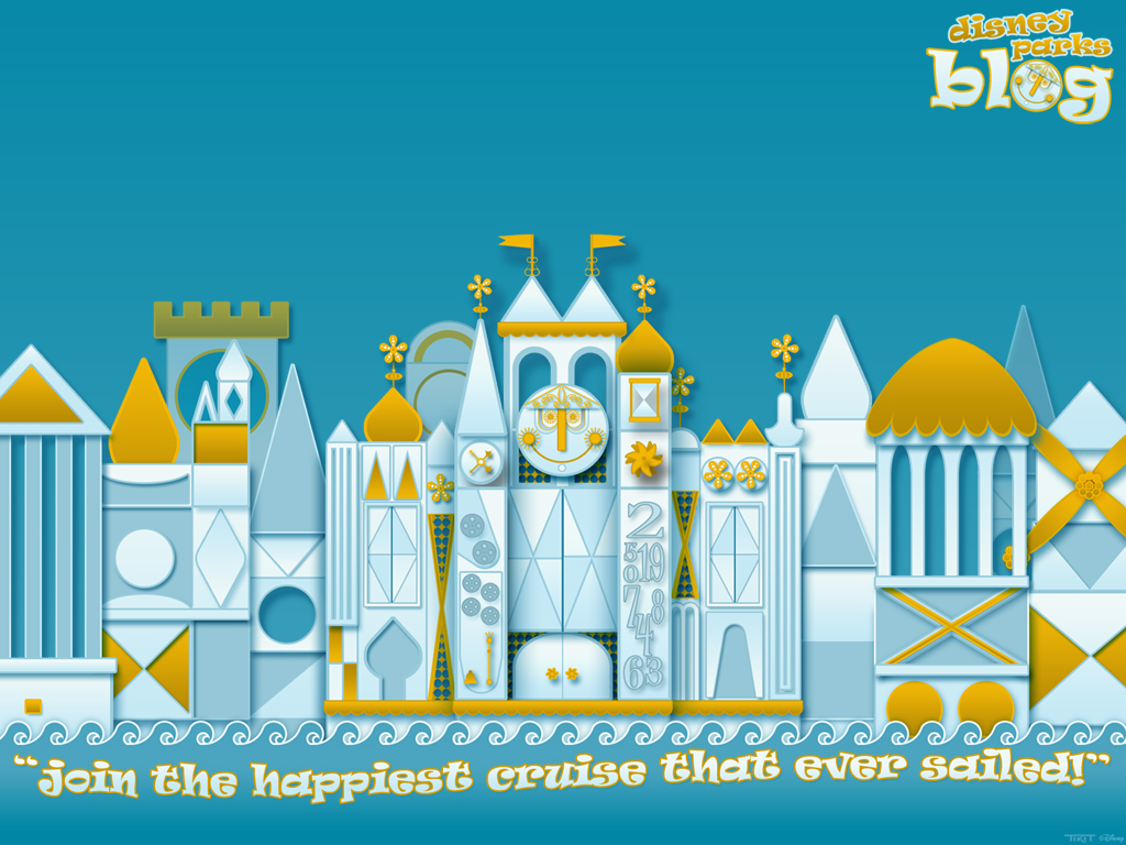 Our its a small world Desktop Wallpaper Disney Parks Blog 1024x768