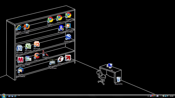 Download AutoCAD Shelf and Desk Wallpaper To Get You Organized 728x409