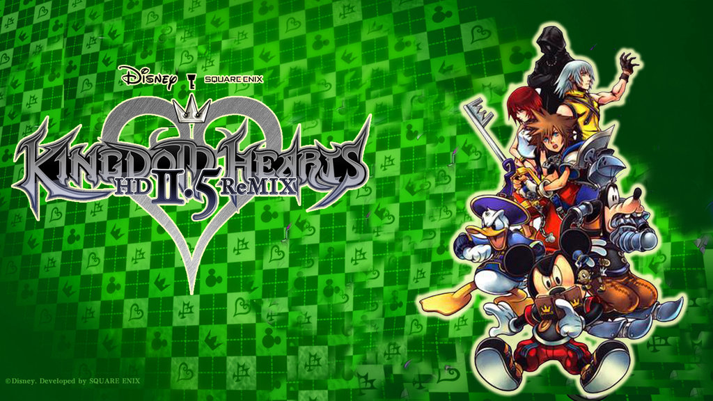 Kingdom Hearts HD 25 ReMIX wallpaper 4 by davidsobo 1024x576