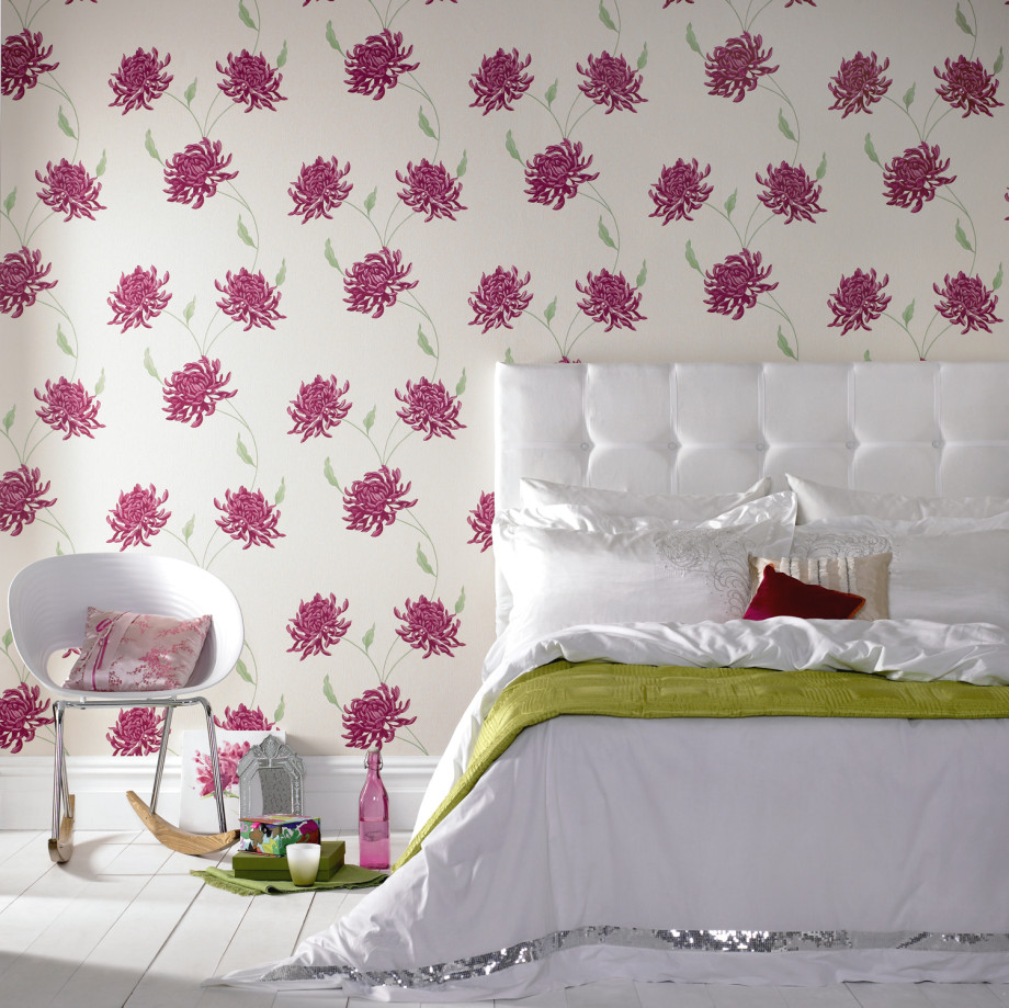 Wallpaper And Matching Bedding