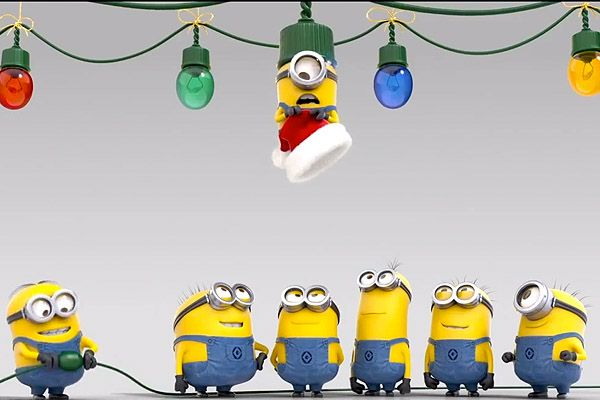 Christmas Minions Wallpaper 600x400