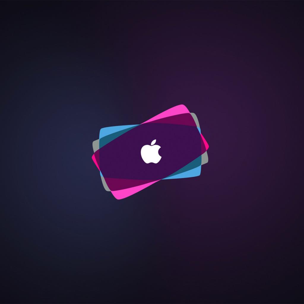 Wallpapers Cool apple logo   Apple iPad iPad 2 iPad mini Wallpapers 1024x1024