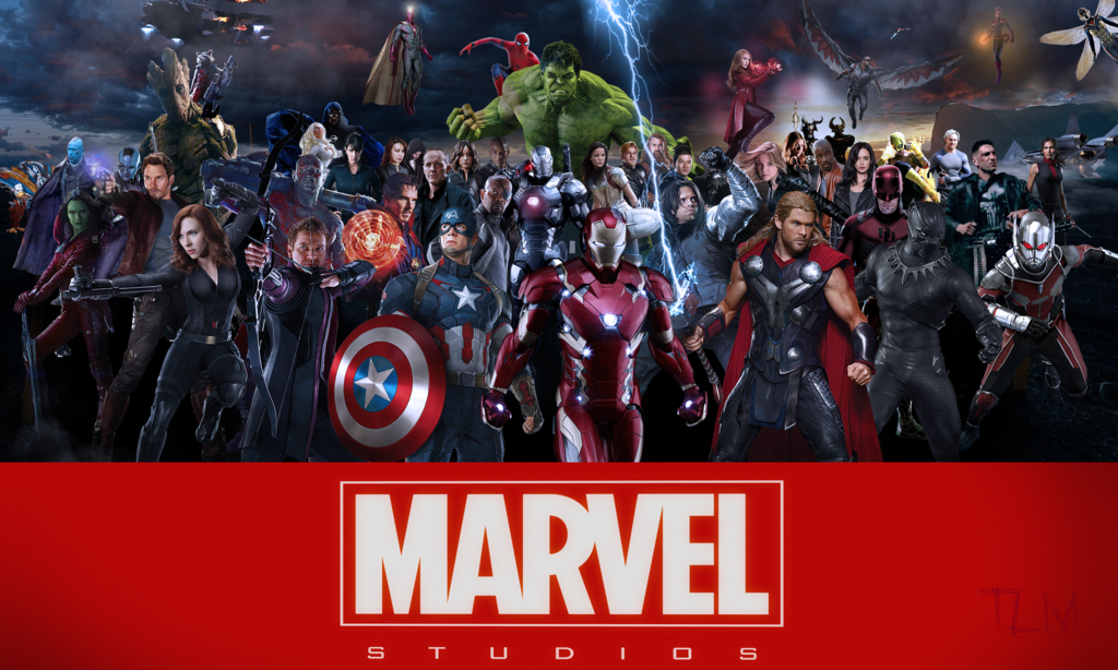 Marvel Cinematic Universe 20 by TyMann930 1024x614