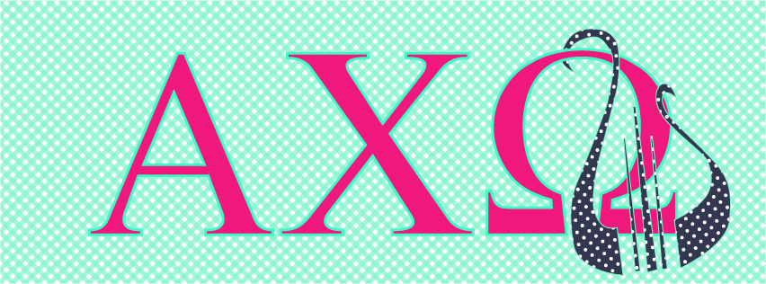 Alpha Chi Omega Facebook Cover Photos by Jessica Marie Design 852x316