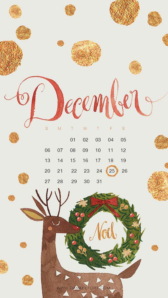 December 2020 Calendar Inspiration Design Iphone Android Wallpaper 564x1000