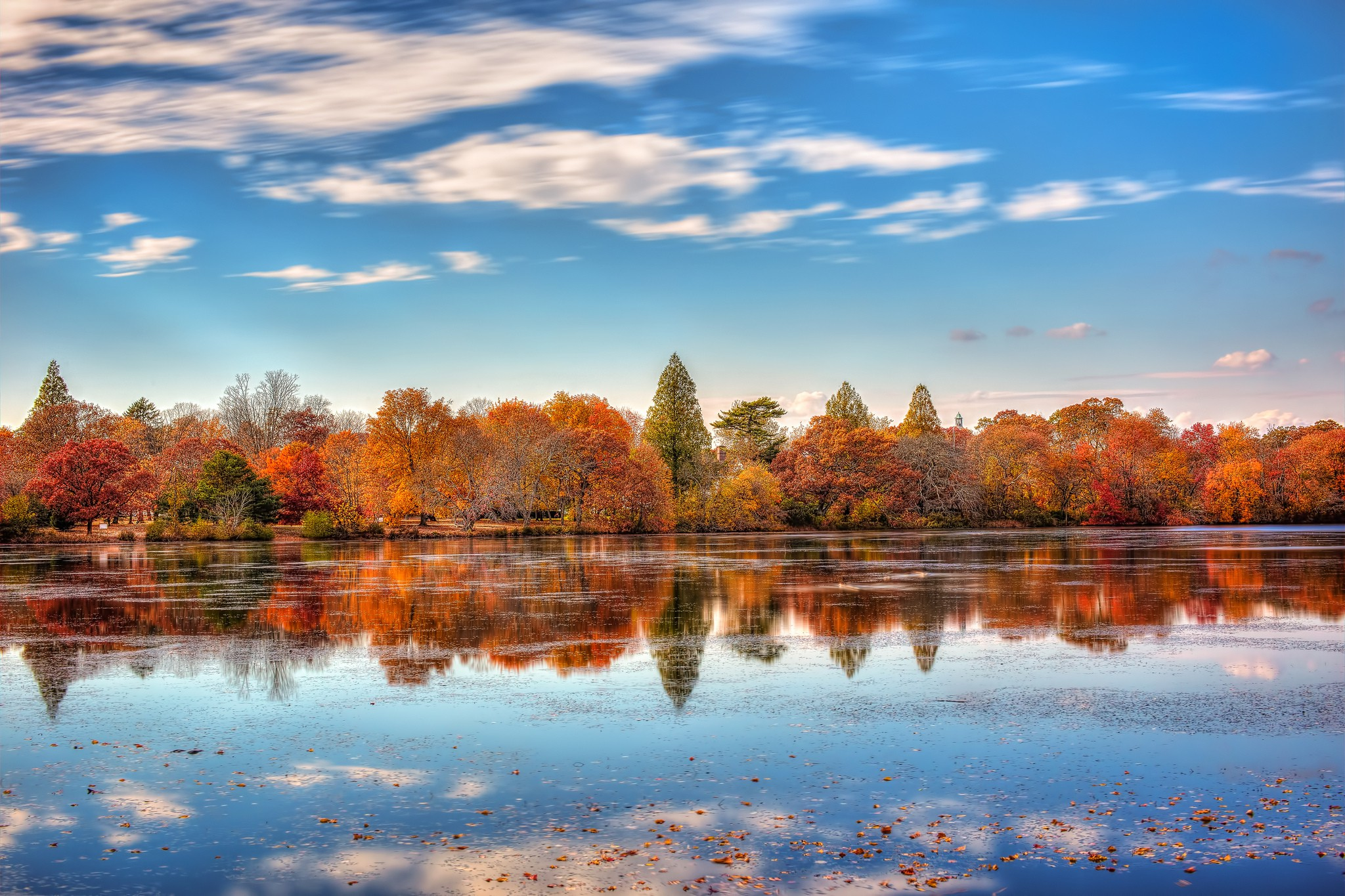 New York Belmont Lake State Park wallpaper nature and 2048x1365