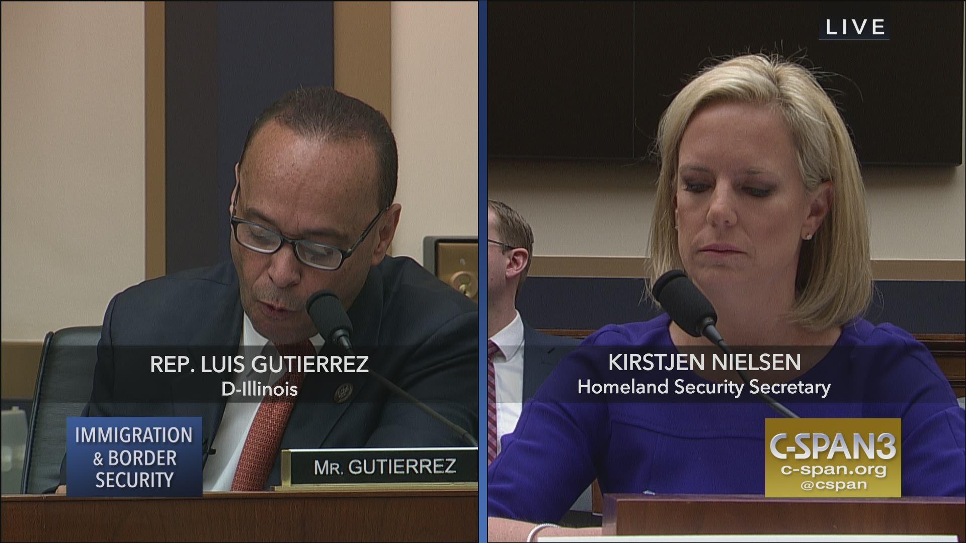 Rep Gutirrez Confronts Sec Nielsen w Trump Admin Lies C 1920x1080