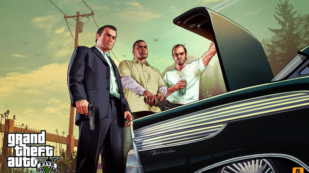 GTA V Wallpaper Gamebud 1280x720