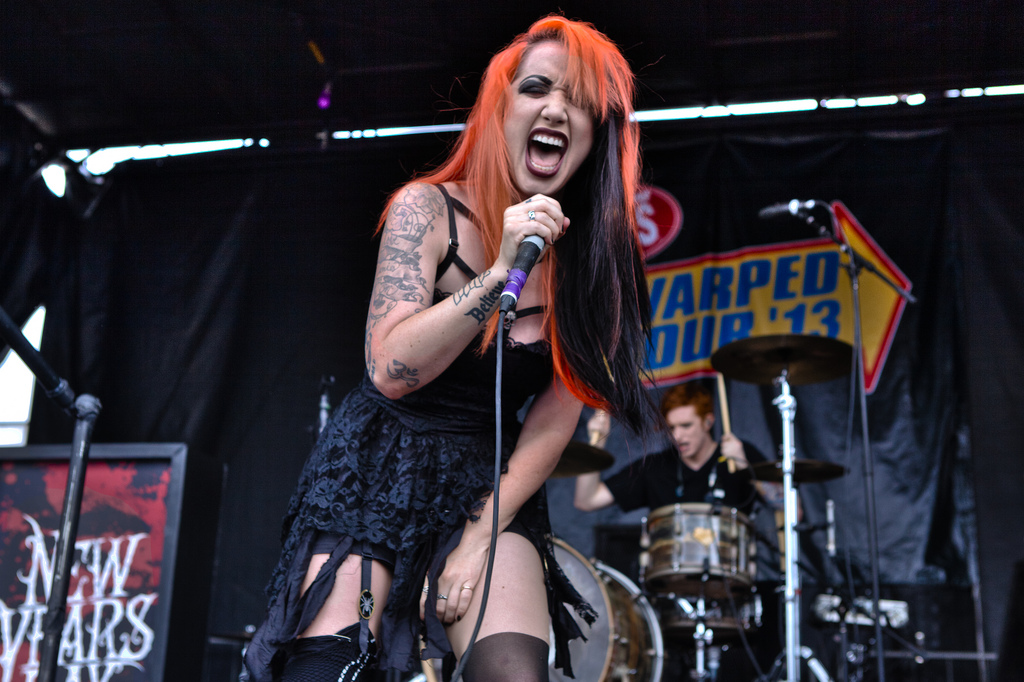 Ash Costello Of New Years Day Interviewed In Manchester 2016 1024x682