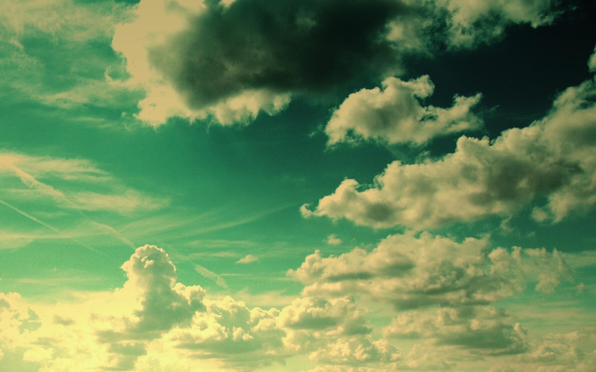 Sunny Clouds desktop wallpaper 1920x1200