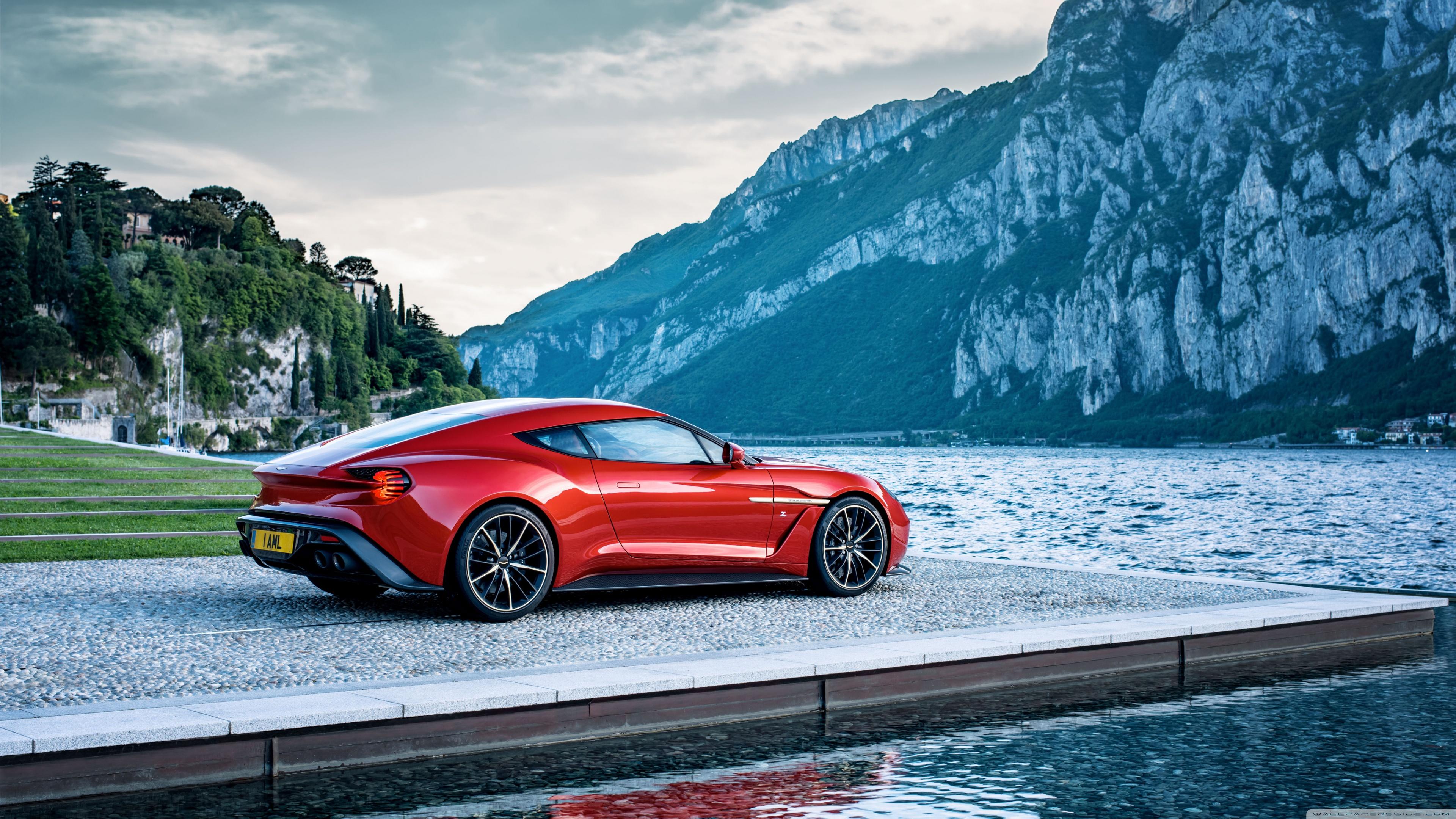 Free Download Red Aston Martin Sports Car 4k Hd Desktop Wallpaper