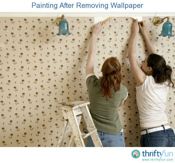 Painting After Removing Wallpaper ThriftyFun 600x561
