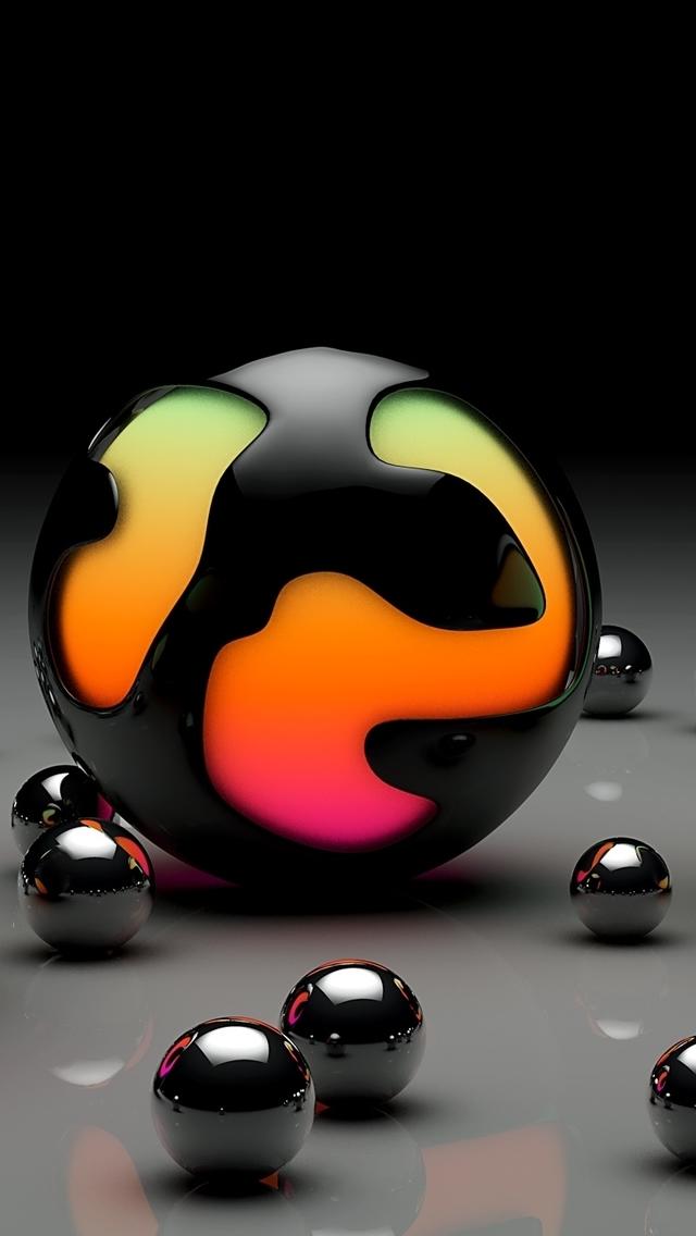 balls design iPhone 5s Wallpaper Download iPhone Wallpapers iPad 640x1136