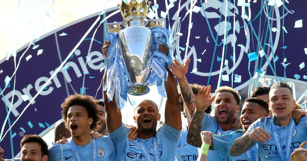 Manchester City Wins Premier League Title Raining Goals to Leave 1050x550
