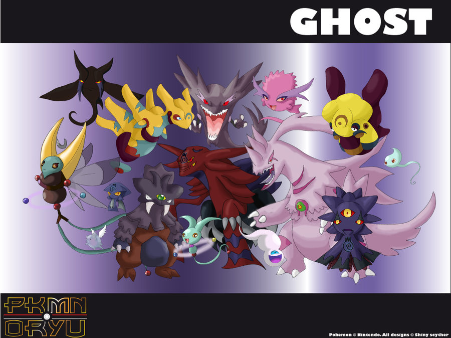 Pokemon Ghost Type Wallpaper Oryu wall ghost type by 900x674