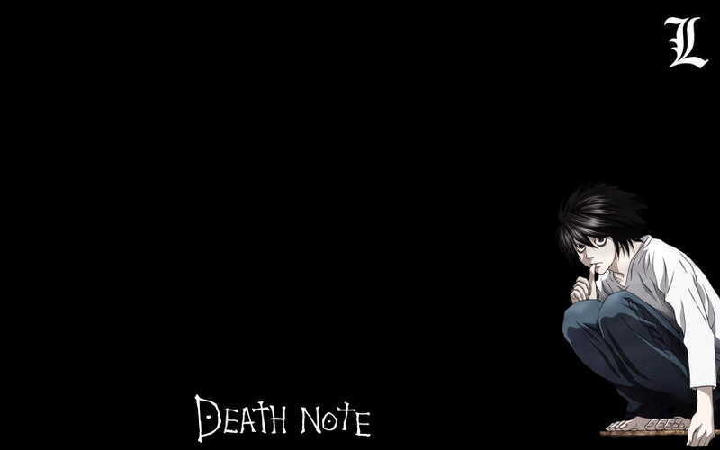 L Death Note Wallpaper HD - WallpaperSafari