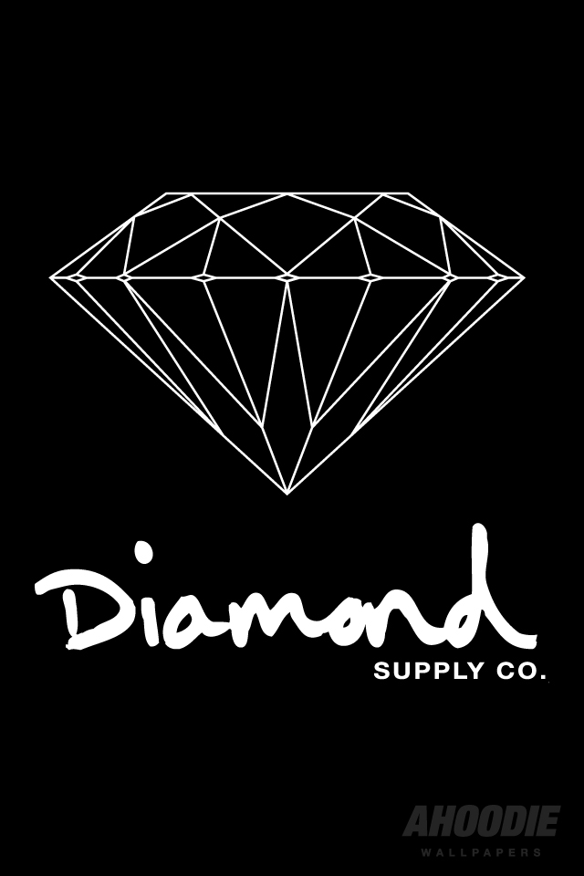diamond supply co iphone wallpapers55com   Best Wallpapers 640x960