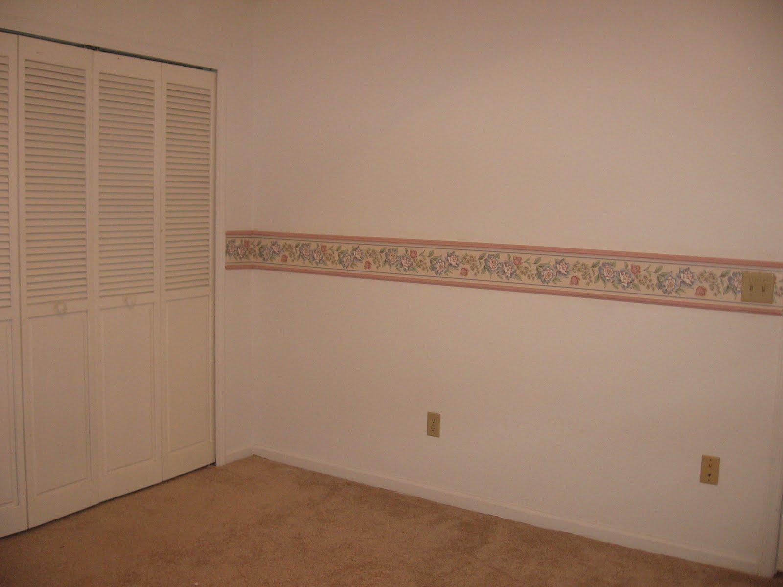 Cherry wood crown molding wallpaper border janet2B2 1600x1200
