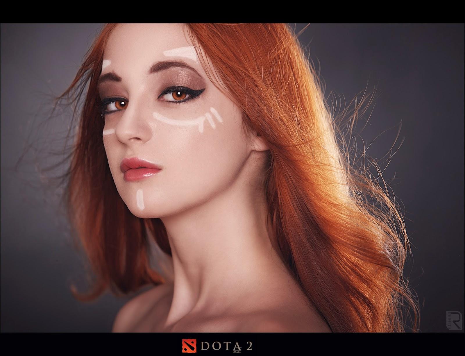 Dota 2 Wallpapers Dota 2 Cosplay   Lina by ringeka 1600x1225