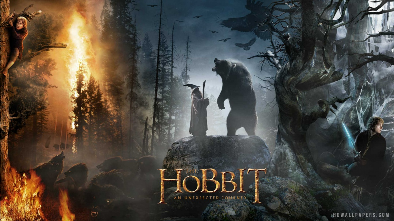 Description Download The Hobbit WallpaperBackground in 1366x768 HD 1366x768