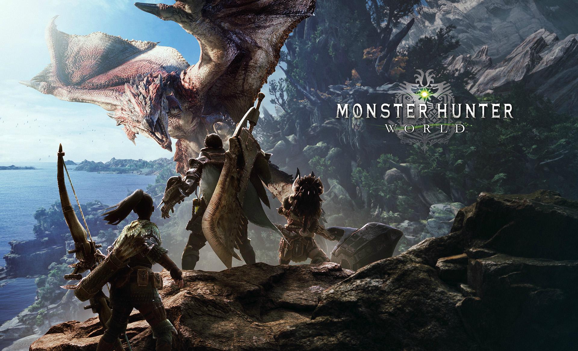 Monster Hunter World HD wallpaper MonsterHunter 1920x1166