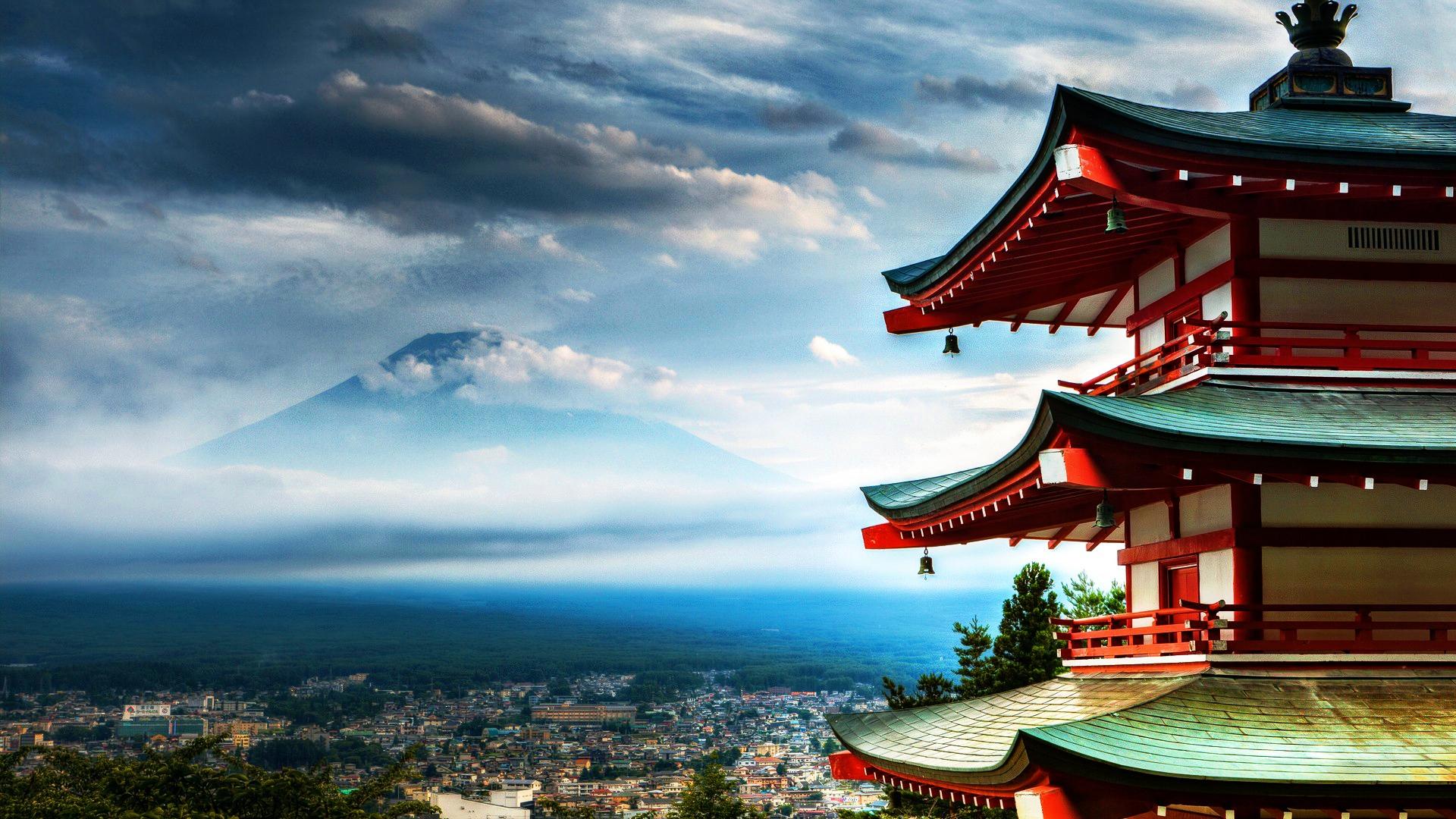 Scarica Tempio giapponese Meraviglioso wallpaper Citt   Mondo sfondi 1920x1080