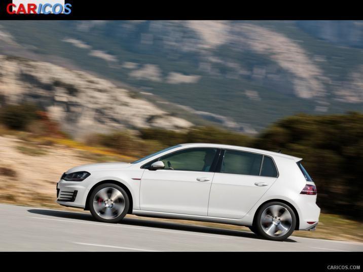 Volkswagen Golf GTI VII 2015   Side HD Wallpaper 16 1920x1080 716x537
