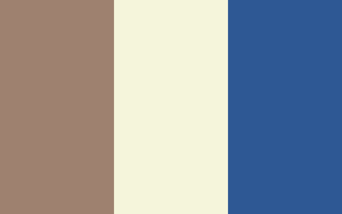 Beaver Beige and Bdazzled Blue solid three color background 1440x900