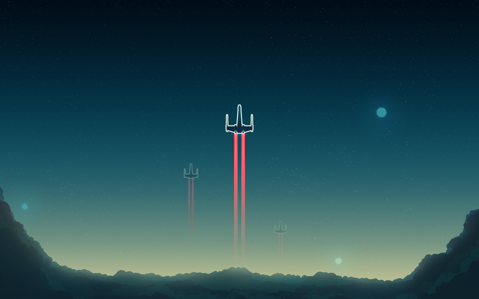 X Wing Wallpaper by TheAdamTaylor 1600x1000