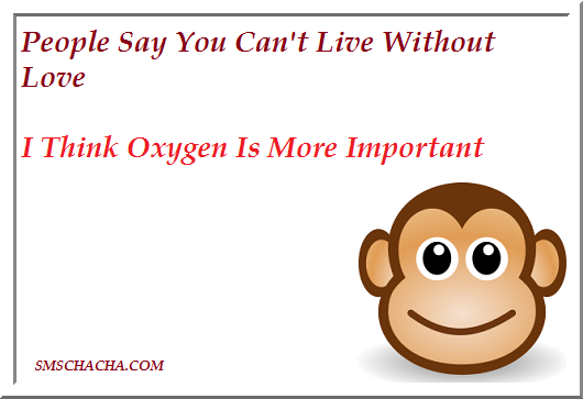 The Really Funny Jokes wallpaper with quotes regarding love and oxygen 530x363