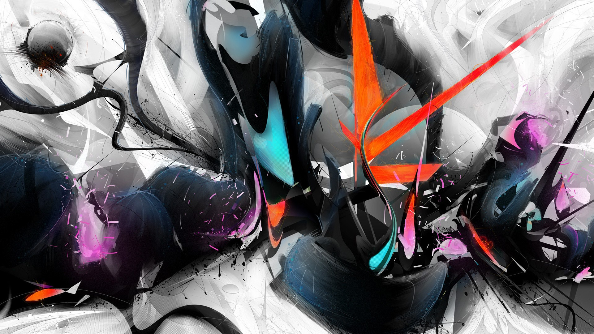 Cool Abstract Wallpaper Designs Hd Background Foto Artis   Candydoll 1920x1080