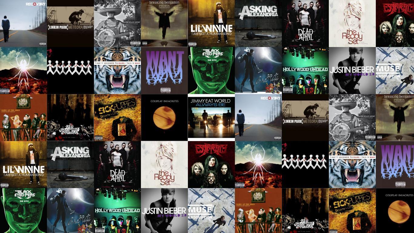 Linkin Park Meteora Nevershoutnever Harmony Breaking Wallpaper 1366x768