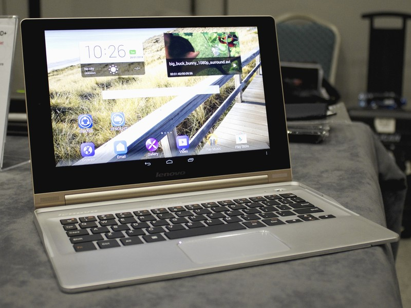 Lenovo Yoga Tablet 10 HD hands on Android Central 800x600