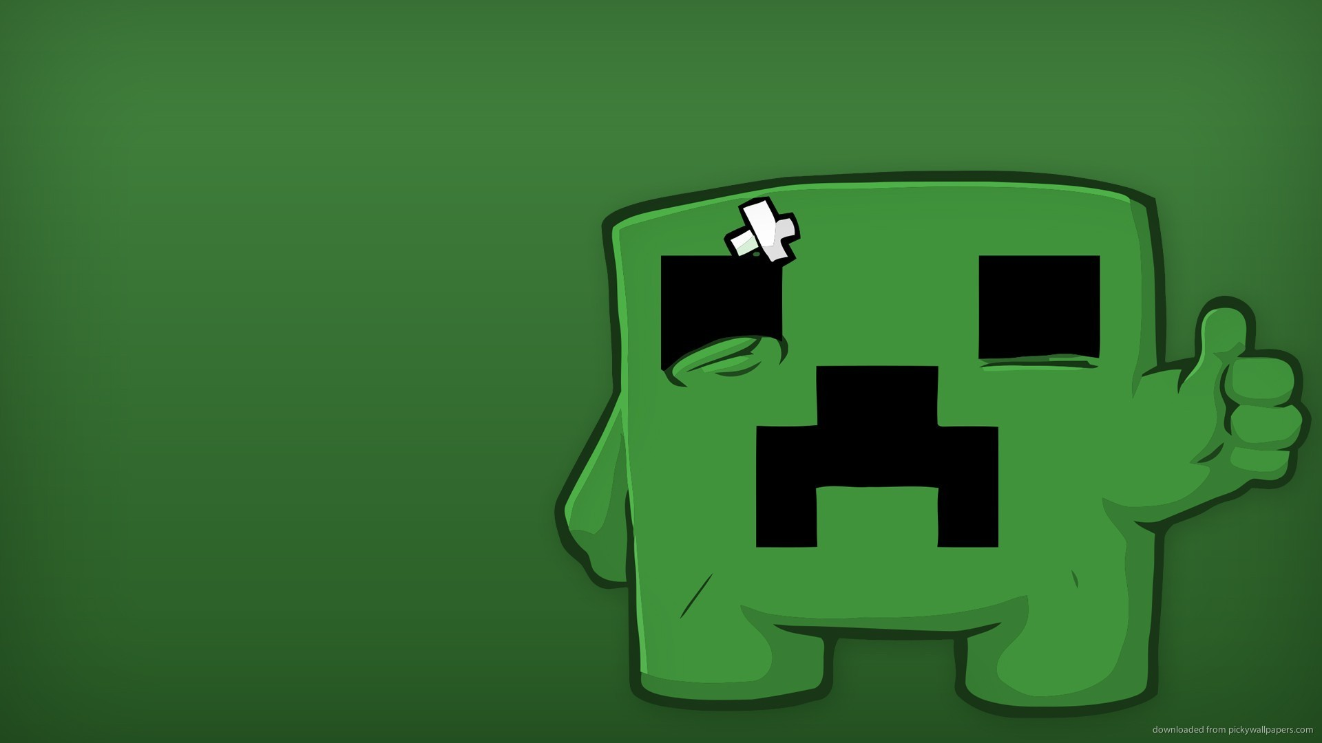 Minecraft Creeper wallpaper 182511 1920x1080