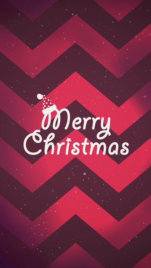 Cute Merry Christmas iPhone 5 Wallpaper 640x1136 640x1136