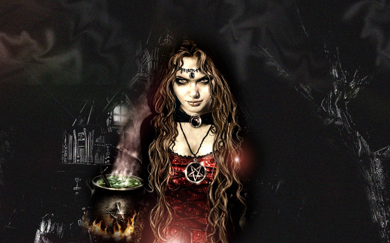 Fantasy   Witch Wallpaper 2880x1800