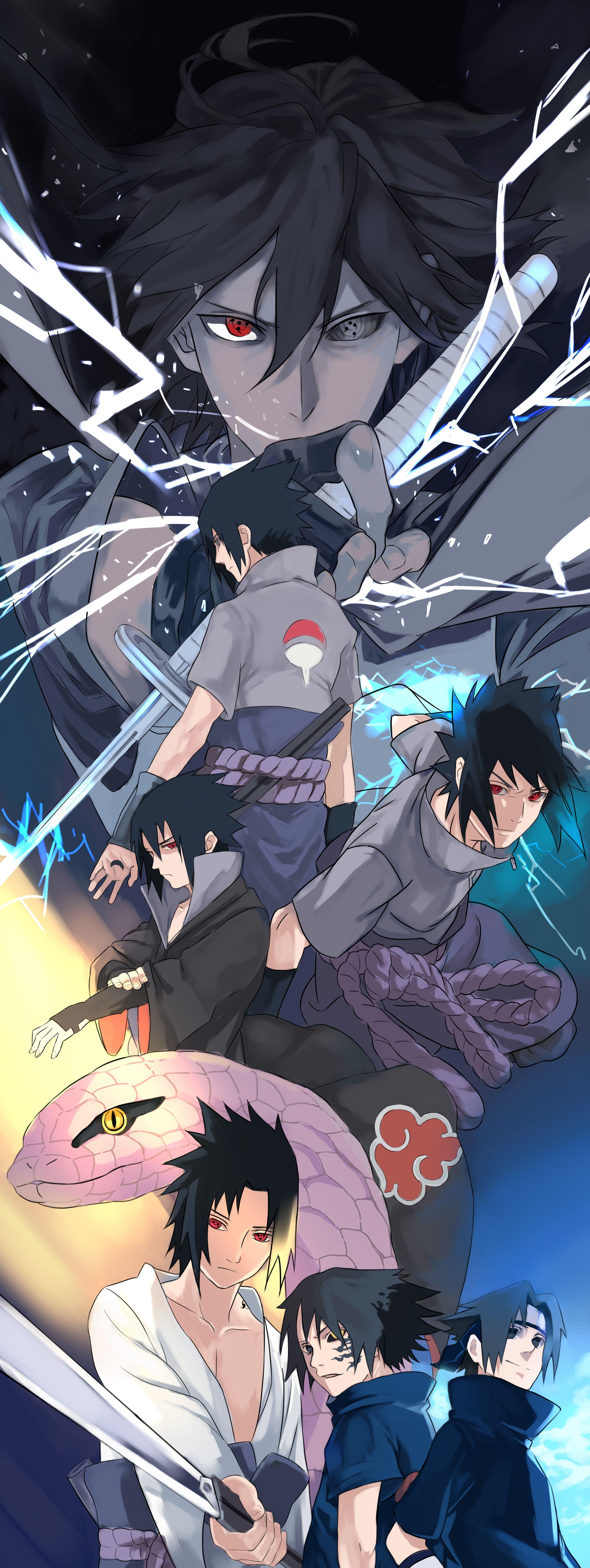 Sasuke Uchiha iPhone Wallpapers   Top Sasuke Uchiha iPhone 2480x6584